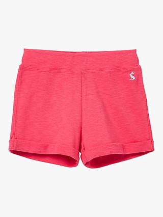 Little Joule Girls' Kittiwake Jersey Shorts, Pink
