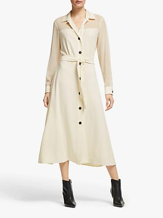 Marella Volano Shirt Dress, Wool White