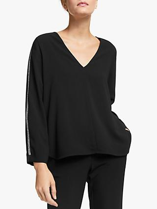 Marella Iseo Blouse, Black