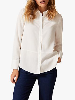 Phase Eight Jayde Shirt, Cream