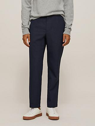 Ted Baker Legbar Soft Tailoring Trousers, Navy
