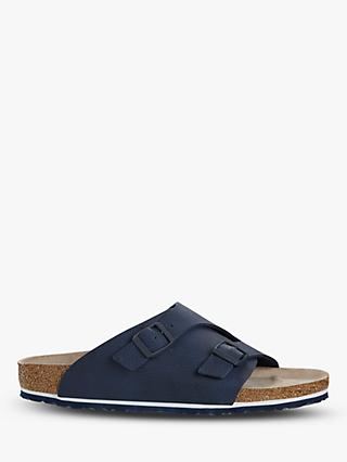 Birkenstock Zürich Leather Sandals, Desert Soil Blue