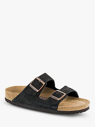 Birkenstock Arizona Suede Sandals, Mocca