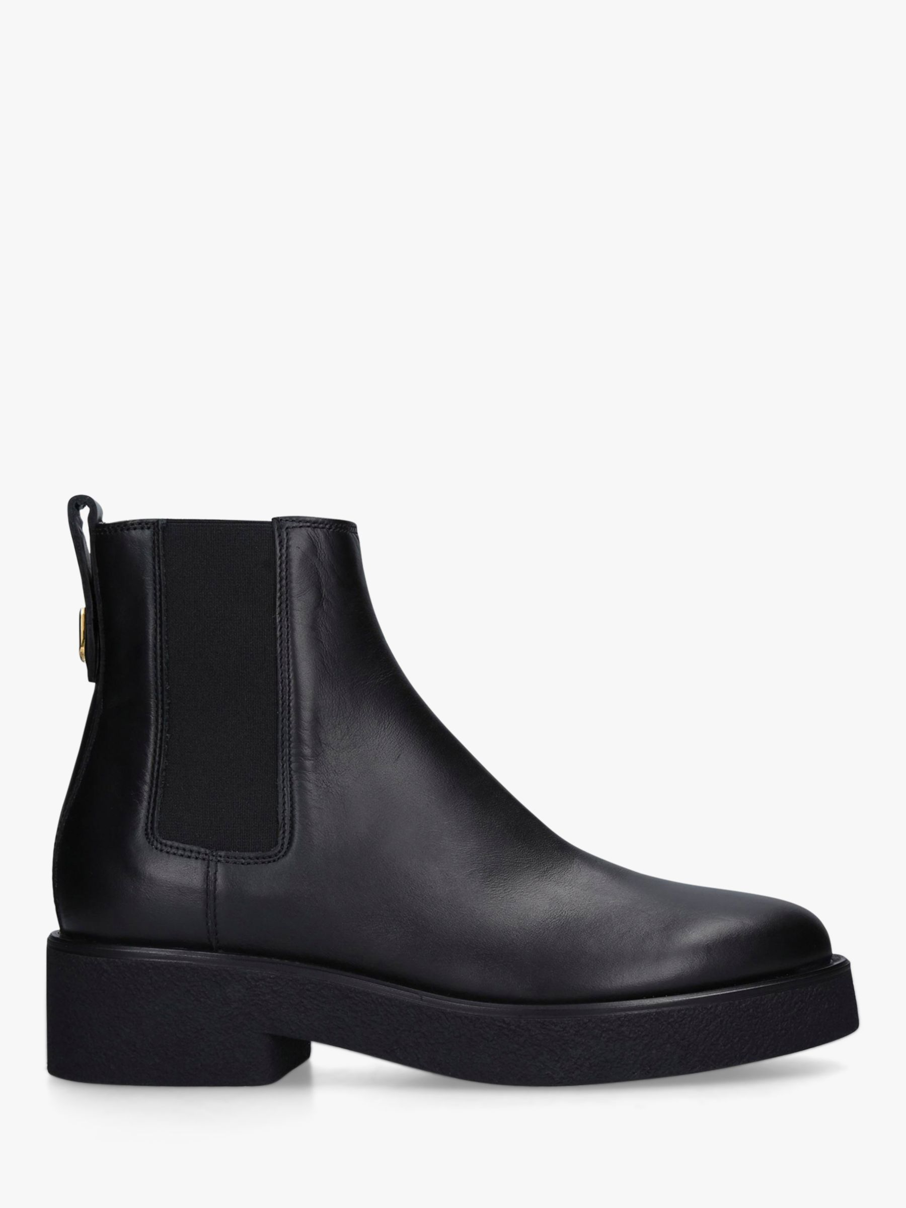 Furla Furla Greta Leather Ankle Boots, Black