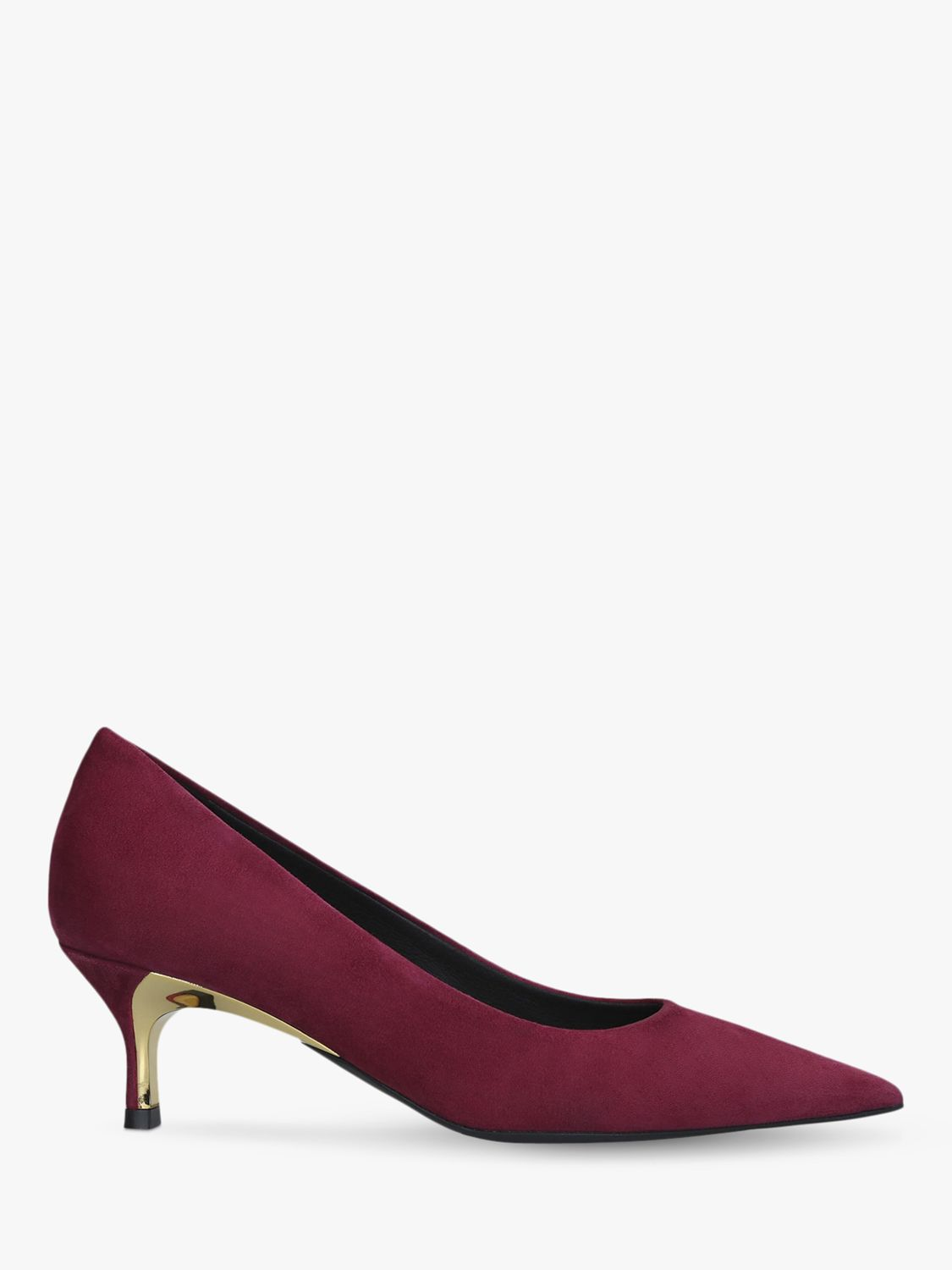 Furla Furla Eva Decollete Stiletto Heel Court Shoes