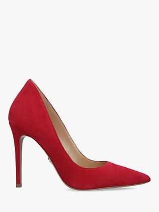 MICHAEL Michael Kors Keke Stiletto Court Shoes, Red