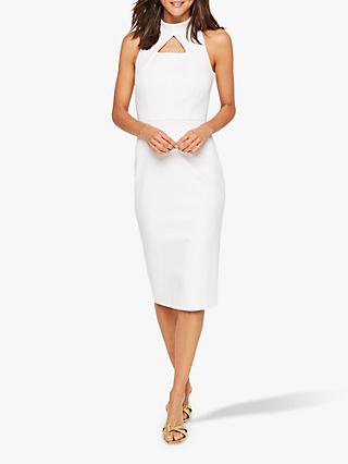 Damsel in a Dress Dahlia Fitted Dress, White