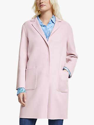 Weekend MaxMara Koala Coat, Pink
