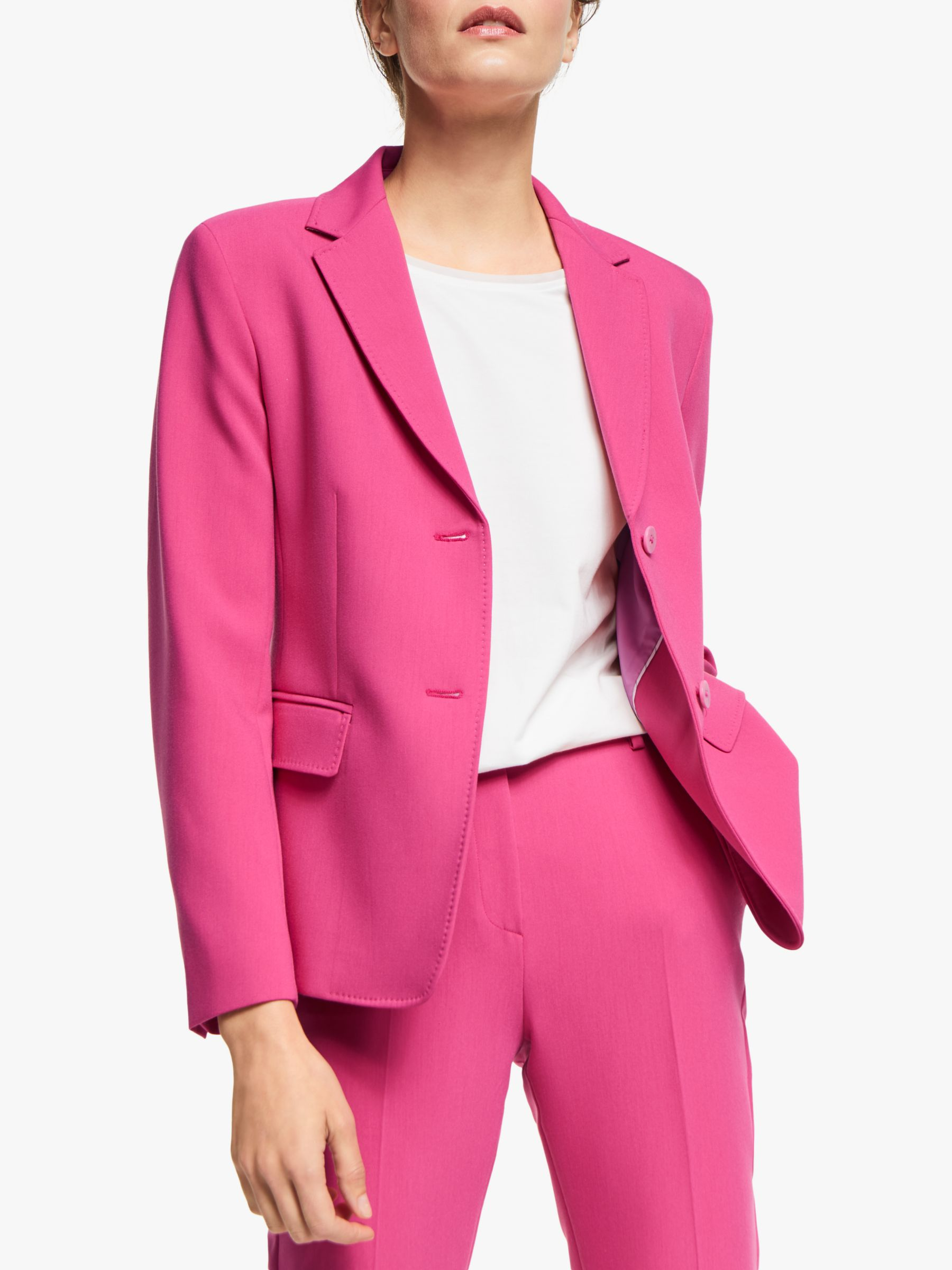 WEEKEND MaxMara Weekend MaxMara Rete Jersey Jacket, Hot Pink