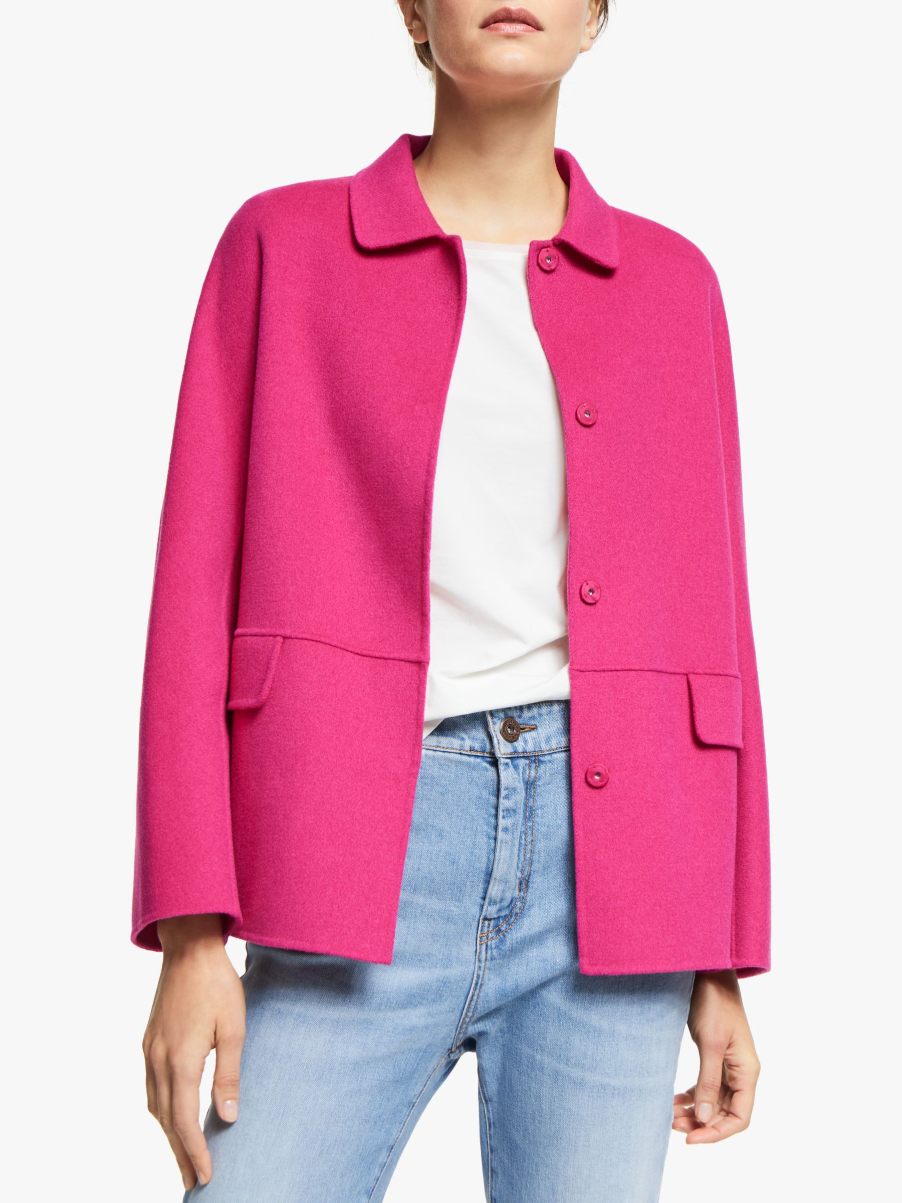 WEEKEND MaxMara Weekend MaxMara Ande Wool Blend Jacket, Pink