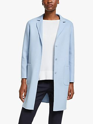 Weekend MaxMara Koala Coat, Light Blue