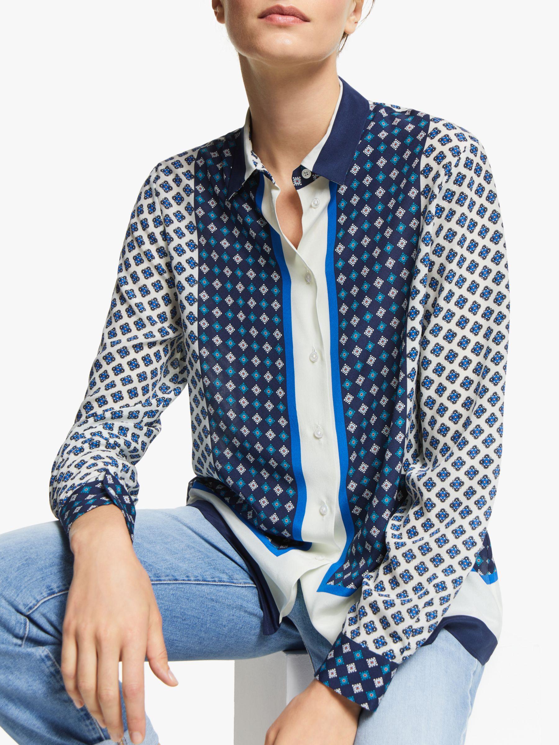 WEEKEND MaxMara Weekend MaxMara Micio Silk Printed Shirt, Multi