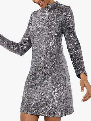 Mint Velvet Sequin Mini Dress
