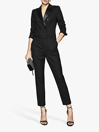 Reiss Marianna Jumpsuit, Black