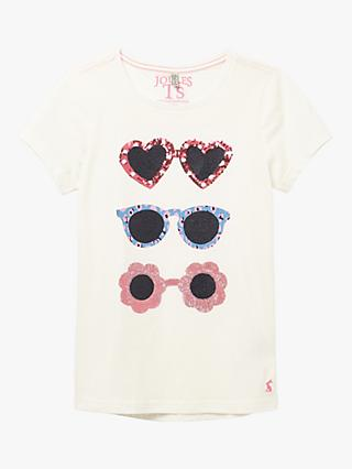 Little Joule Girls' Astra Sunglasses Top, White