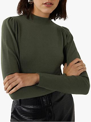 Warehouse Puff Sleeve Jumper