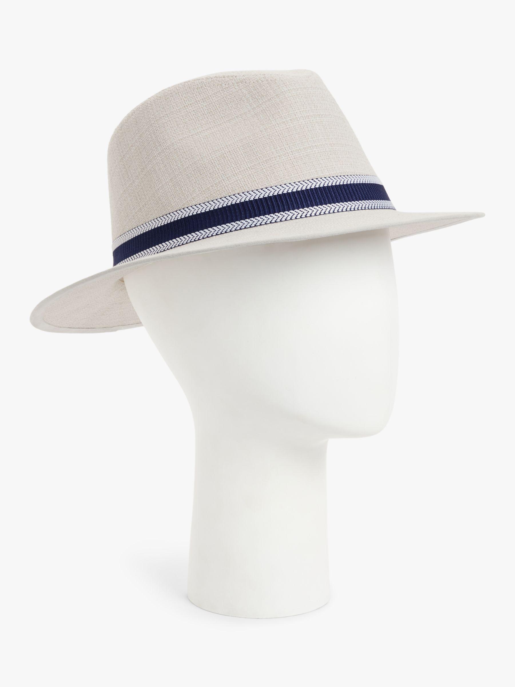 Failsworth Failsworth Cotton Linen Fedora Hat, Natural