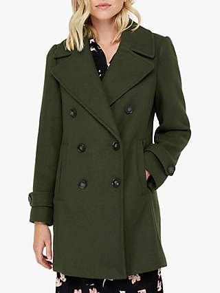Monsoon Ashley Double Breasted Pea Coat