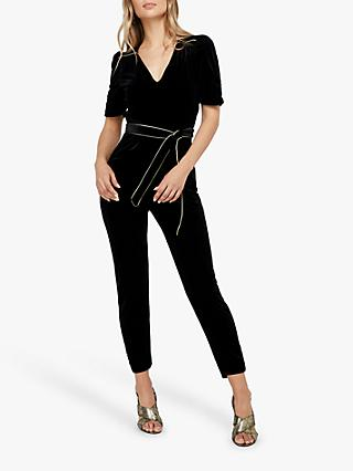 Monsoon Kimberley Velvet Jumpsuit