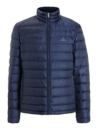 GANT Light Down Jacket, Navy