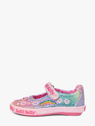 Lelli Kelly Children's Rainbow Unicorn Mary Jane Shoes