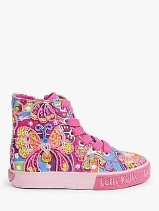 Lelli Kelly Children's Frances High Top Trainers