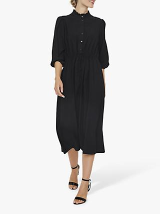 AWARE BY VERO MODA Frill Collar Dress, Black
