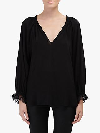 Velvet by Graham & Spencer Madily Blouse, Black