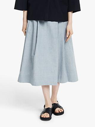 Kin Cocoon Skirt, Blue