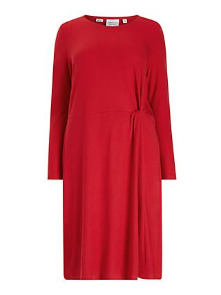 JUNAROSE Curve Lola Dress, Barbados Cherry