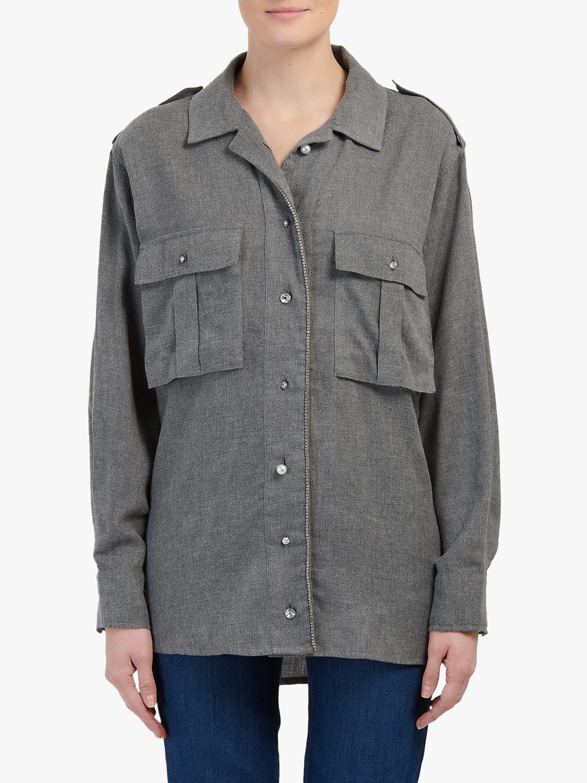Essentiel Antwerp Essentiel Antwerp Flannell Shirt, Belgian Block