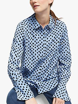 Essentiel Antwerp Spot Trumpet Cuff Shirt, Chambray