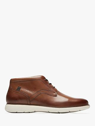 Rockport Garett Leather Chukka Boots, Cognac