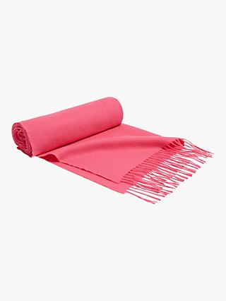 Oasis Penny Supersoft Scarf, Bright Pink