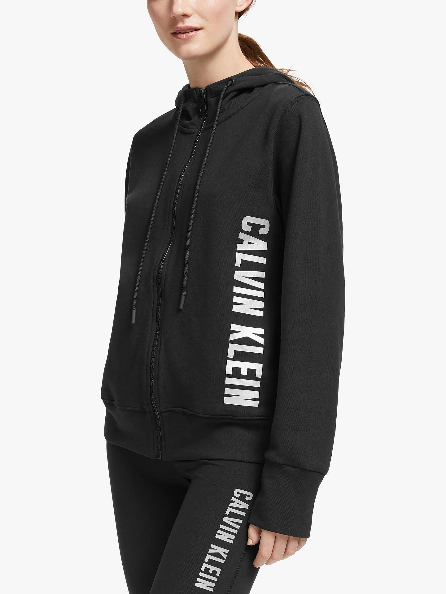 calvin klein cashmere zip hoodie