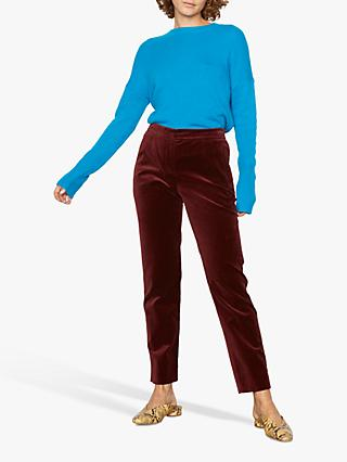 Jigsaw Paris Velvet Slim Trousers