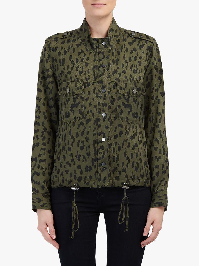 Rails Raills Collins Leopard Print Jacket, Green