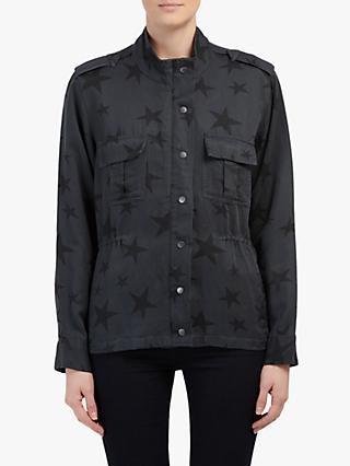 Raills Trey Star Jacket, Charcoal