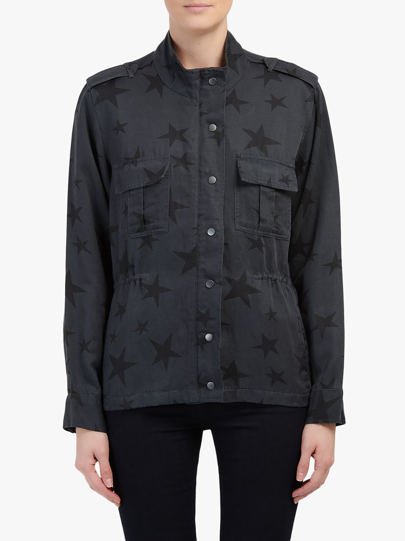 Rails Raills Trey Star Jacket, Charcoal