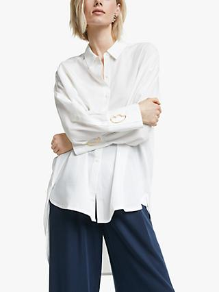 Mother of Pearl Tencel™ Shirt, White