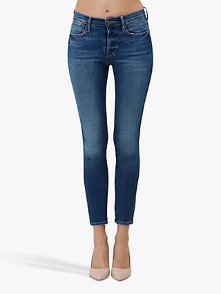 FRAME Le High Skinny Jeans, Packard