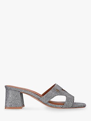 Kurt Geiger London Odina Slip On Sandals, Silver