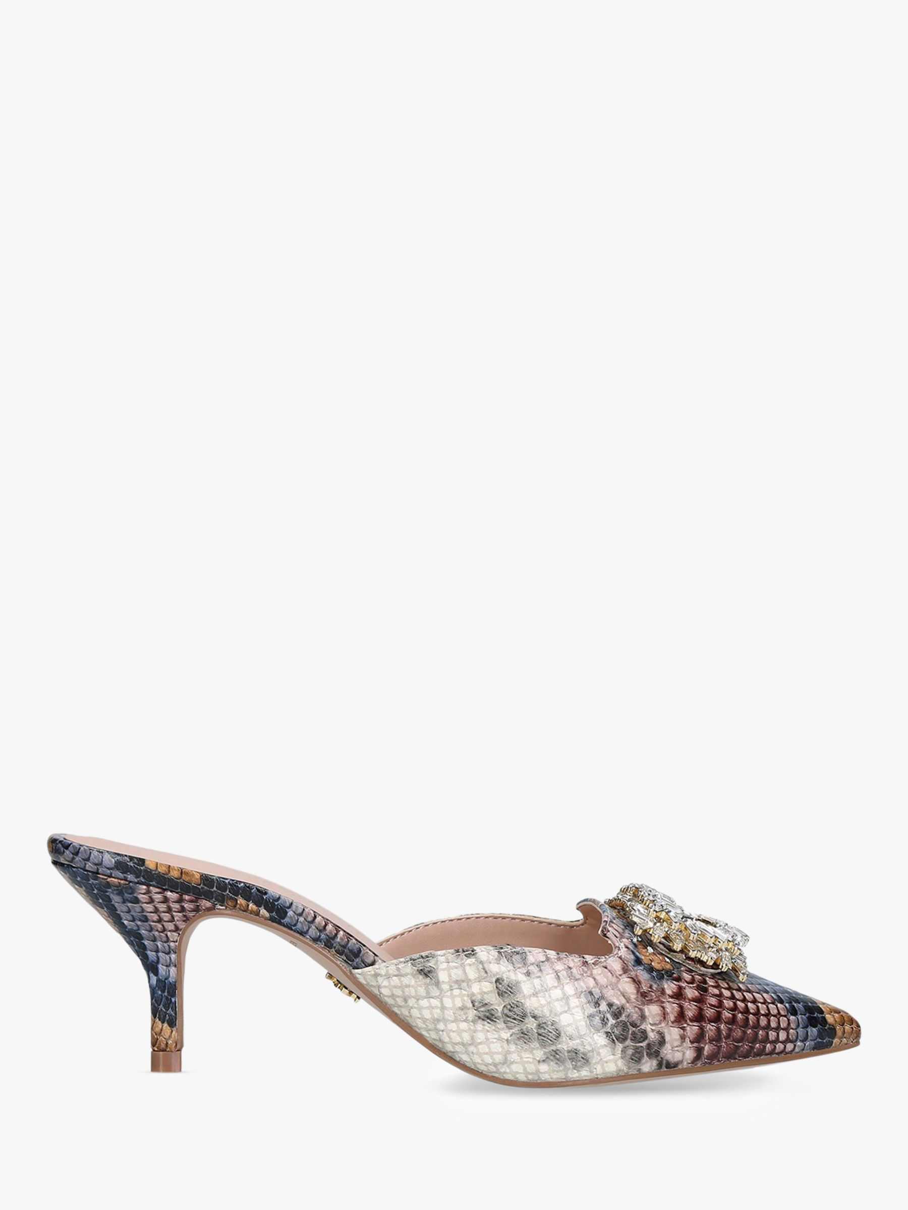 Kurt Geiger Kurt Geiger London Pia Jewel Mule Court Shoes, Multi
