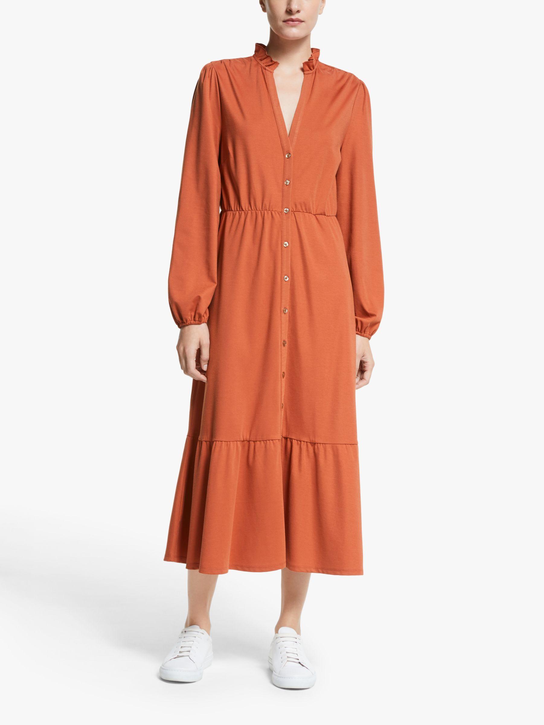Y.a.s Y.A.S Dune Midi Dress, Orange