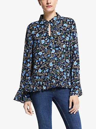 Y.A.S Thistle Long Sleeve Top, Multi
