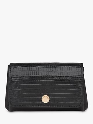 Whistles Emmy Lizard Leather Coin Purse