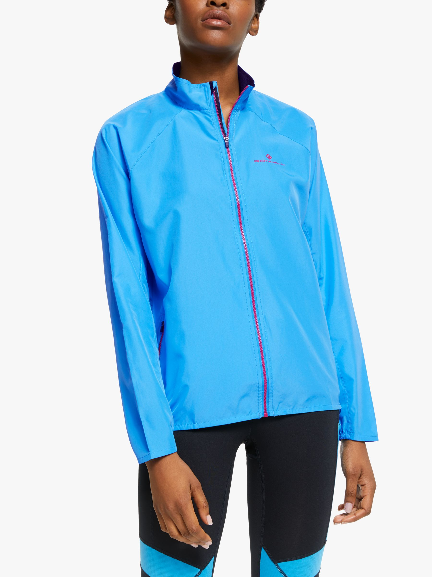 Ronhill Ronhill Everyday Women's Running Jacket, Sky Blue/Cherryade