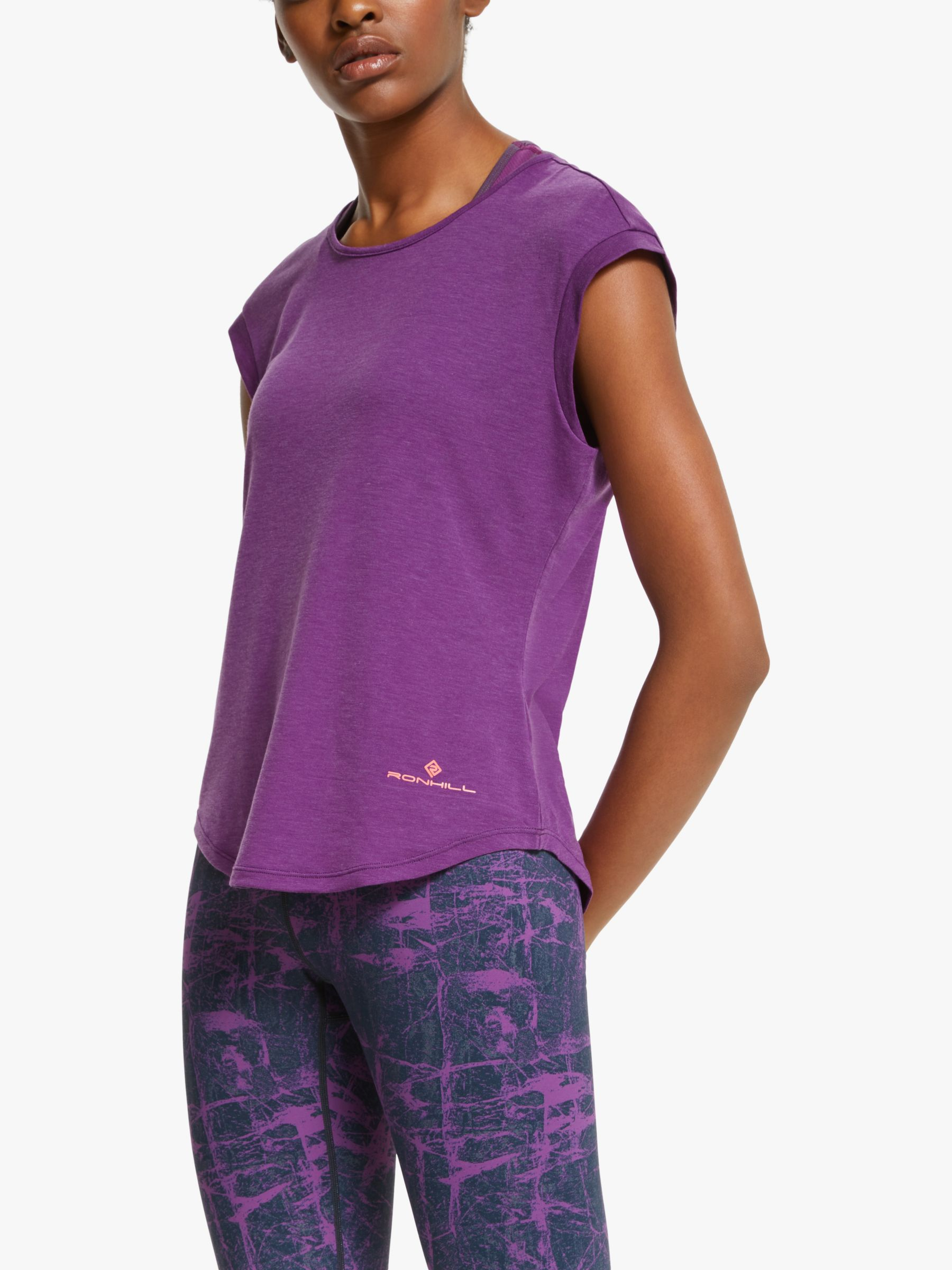 Ronhill Ronhill Momentum Tencel Short Sleeve Running Top