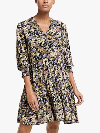 Y.A.S Winny Floral Mini Dress, Multi