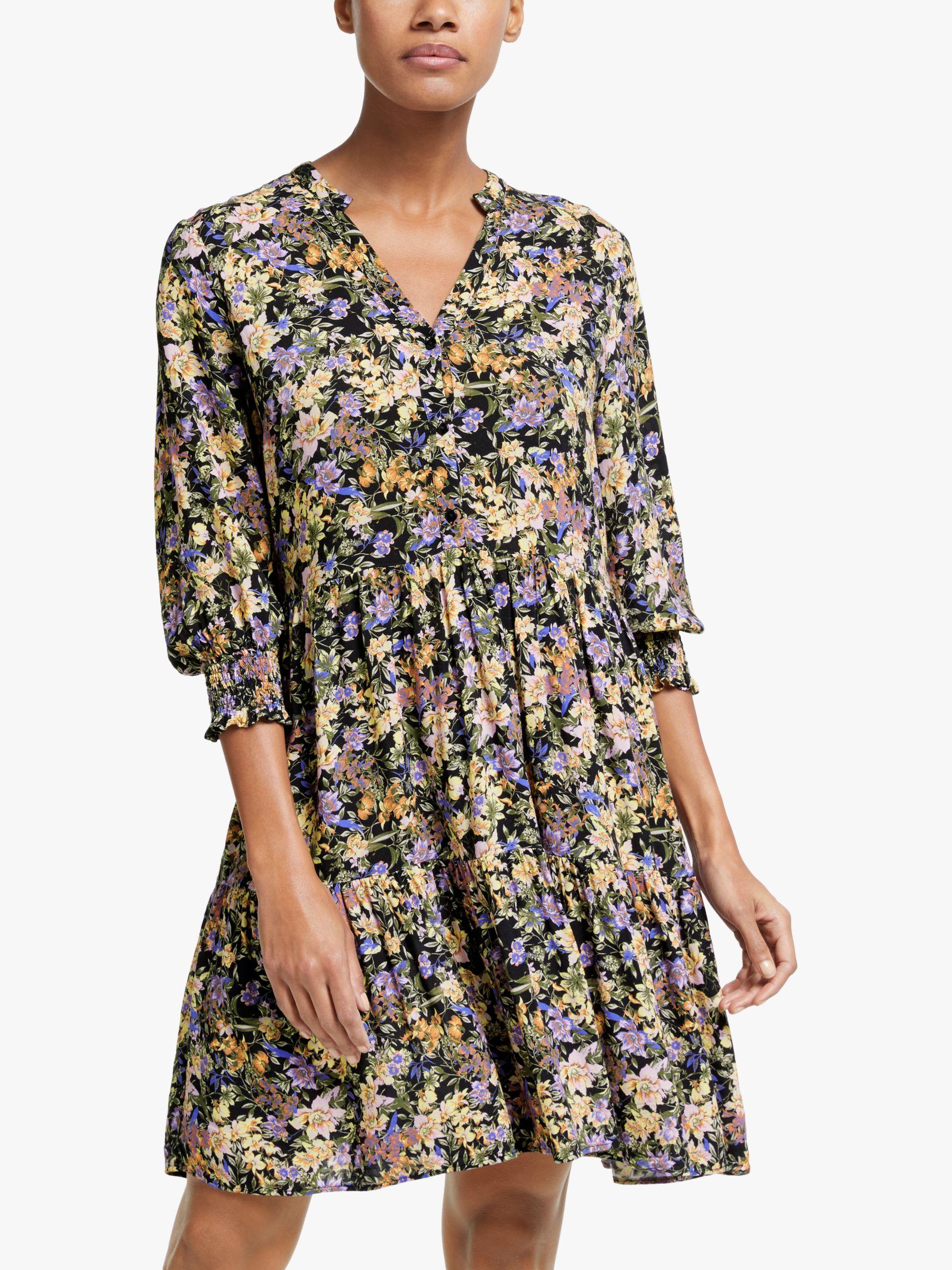 Y.a.s Y.A.S Winny Floral Mini Dress, Multi